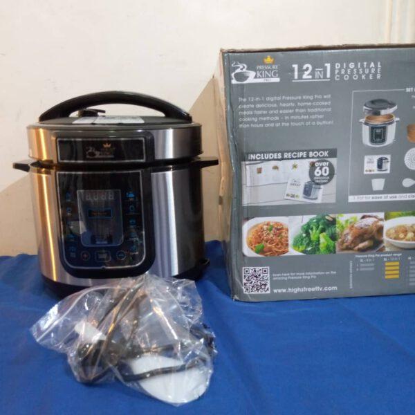 Afrotalia International Ltd.- pressure cooker